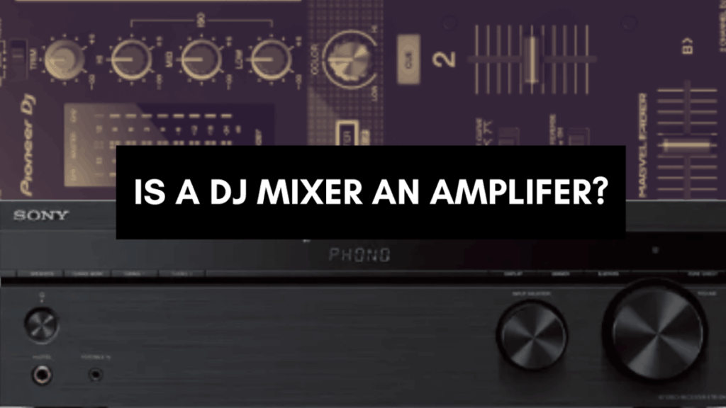 Is a DJ mixer and amp