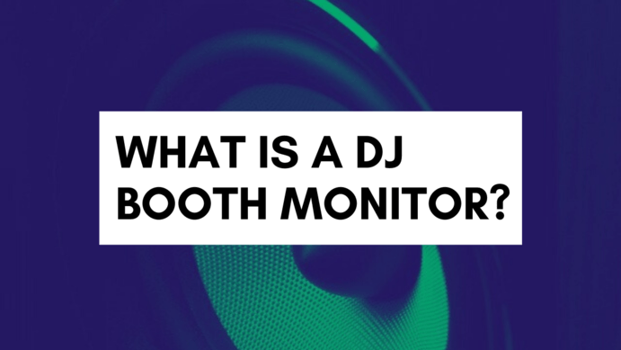 what is a DJ booth monitor?