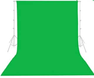 Green screen for live streaming DJing